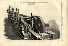 1887 Newport Mills Middlesbrough Rolling Mill Engine J Head