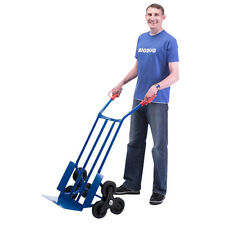Stair Climber Sack Truck Transport Heavy Duty Climbing Flat Bed Trolley BiGDUG