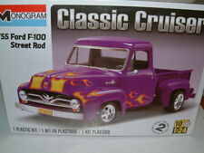1/24 MONOGRAM 1955 FORD F-100 PICK UP STREET ROD PLASTIC KIT