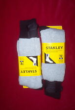 2 Pairs Stanley Battery Power Operated Heated Thermal Socks Men's Work Hunting