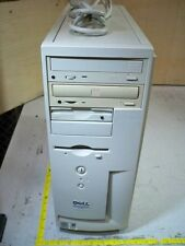 Dell Dimension 4100 Tower w/Pentium 3@933MHz/256MB RAM/DVD-CDRW/0HD & PC Cable