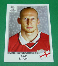 N°123 JAAP STAM MANCHESTER UNITED FC PANINI FOOTBALL CHAMPIONS LEAGUE 1999-2000