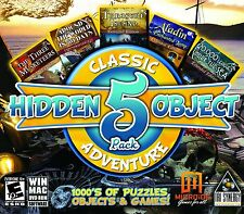 Hidden Object Classic Adventures 5 Game Pack PC Games Windows 10 8 7 Vista XP