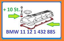 BMW Ventildeckeldichtung mit 10x Dichtring E36 E46 E34 316i, 318i, 518i , Z3