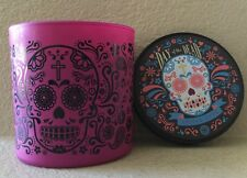 Dw Home Halloween Day Of The Dead Spiced Flan Candle Sugar Skull