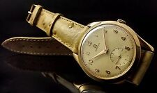 men's OMEGA 2619 VINTAGE CAL.265 WATCH UHR 18K YELLOW GOLD, 100% ORIGINAL, 35MM