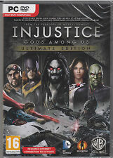 Injustice Gods Among Us Ultimate Edition PC Brand New Sealed Fast Ship