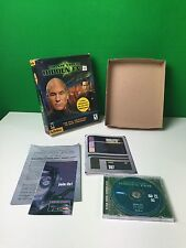 Star Trek Hidden Evil PC CD Game Complete in Big Box CIB