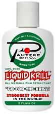 Pautzke Bait Liquid Krill Shrimp Scent All Natural Attractant  2 oz Bottle