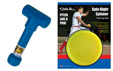 SPIN RIGHT SPINNER + WRIST SNAPPER Fastpitch Softball Pitching Training Aids