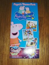 NEW PEPPA PIG WORLD HAMPSHIRE LEAFLET FLYER PUT WITH TICKETS MAKES A GREAT GIFT