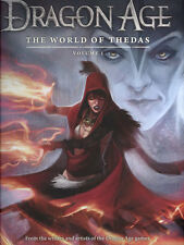 DRAGON AGE: THE WORLD OF THEDAS VOL #1 HARDCOVER Game Based Comics BioWare HC