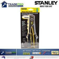 Rivet Gun Stanley Heavy Duty Genuine PRO 6PC Kit 1/8 3/32 5/32 3/16 Pop 2221430