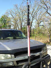 "The new ""RATTLER"" High Pole for Pilot/Escort Vehicles - GRAY"