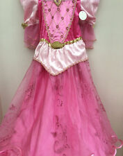 Pink Sleeping Beauty Disney Costume Princess Aurora complete Outfit age 3/4 hoop