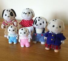 Sylvanian Families Rare & Retired Kennilworth Dalmation Dog Family Mint Cond'