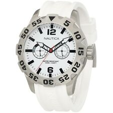 NEW Nautica Men's N16603G Bfd 100 Multi Watch BRAND NEW