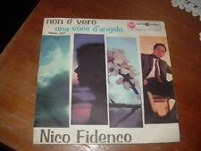"""NICO FIDENCO """" NON E' VERO - UNA VOCE D'ANGELO """"  ITALY'61"""