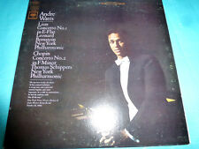 Liszt & Chopin Concertos, Andre Watts, Bernstein Columbia Stereo LP