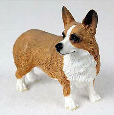 WEST CORGI PEMBROKE DOG Figurine Statue Hand Painted Resin Gift Pet Lovers