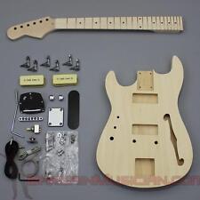 Bargain Musician - GK-018L - LEFT Hand DIY Unfinished Project Luthier Guitar Kit