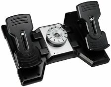 Saitek PRO Flight Rudder Pedals with Toe Brake for Flight Simulation PZ35