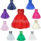 NEW Flower Girl Pageant Wedding Bridesmaid Party Fancy Dress Easter Formal Gown