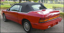 CHRYSLER LEBARON CONVERTIBLE TOP DO-IT-YOURSELF PKG.  1987-1995