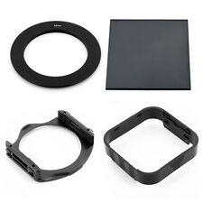 62MM RING ADAPTER+FULL ND8 SQUARE FILTER+ HOLDER +HOOD FOR COKIN P SERIES System