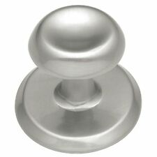 Belwith-Hickory K64-SN Cabinet Knob /Backplate Satin Brushed Nickel Kitchen Pull