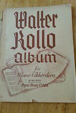 Walter Kollo Album für Piano Akkordeon  12-120 Bässe G.Schütz Sikorski Verlag