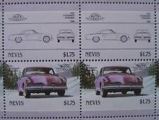1953 STUDEBAKER COMMANDER STARLINER Car 50-Stamp Sheet / Leaders of the World