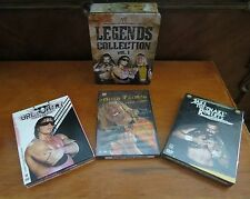 WWE Sports Entertainment Legends Collection Vol. 1 - DVD's of 3 Legend Wrestlers