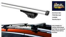 ALUMINIUM LOCKING ROOF BARS/CROSS RAILS FOR FORD FOCUS HATCBACK 11-ON