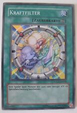 Yugioh Power Filter TDGS-DE058 Super Rare GER