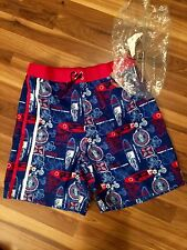 NWT DISNEY MICKEY MOUSE SWIM TRUNKS ADULT SIZE X-LARGE TIKI ISLAND MICKEY!!!