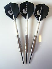 JOHN LOWE STYLE DARTS SET 90% TUNGSTEN 25 GRAM UNICORN STEMS & FLIGHTS
