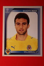PANINI CHAMPIONS LEAGUE 2008/09 # 533 VILLAREAL CF ROSSI BLACK BACK MINT!