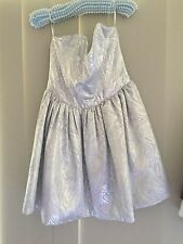 Women's Silver Wayne Cooper Dress Size 3
