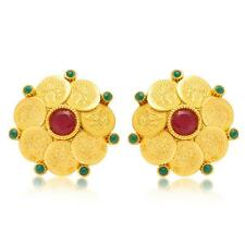 Sukkhi Gorgeous Gold Plated Temple Jewellery Coin Earring(6058EGLDPL500)