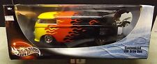 Customized VW Drag Bus/ Flames 1/18 die cast by HotWheels (7533b)