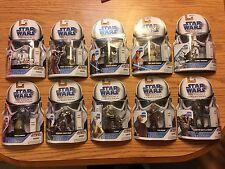 LOT of 10 Star Wars Legacy Collection Saga Legends # 1 2 3 4 5 6 7 8 9 10 AFA em