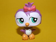 P2) Littlest Pet Shop LPS Hasbro - Owl Vogel Eule lila #1515