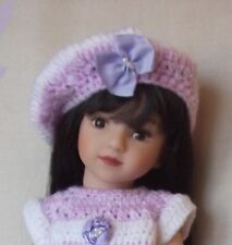 SUPERBE POUPEE MARU and Friends Edition collector Dianna Effner brune 33 cm