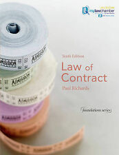 Law of Contract (Foundation Studies in Law Series) by Richards, Paul