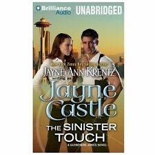 THE SINISTER TOUCH unabridged audio book CD by JAYNE CASTLE ( Jayne Ann Krentz )