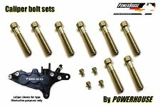 Suzuki GSXR 750 SRAD Stainless joint bolt set Tokico 6 pot front brake calipers