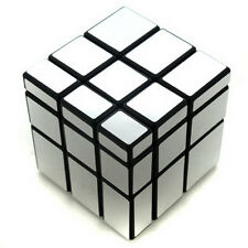 Ghost Hand Silver Black Mirror Block 3x3 3x3x3 Puzzle Magic Cube Twist Puzzle