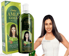 200ml - 7oz  Dabur Amla GOLD Hair Oil Henna Almond USA Wholesale & Retail Store