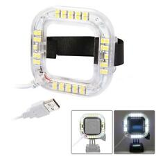 Macro USB LED Video Light Ring for GoPro Hero 4 Session Action Sport Camera W3F2